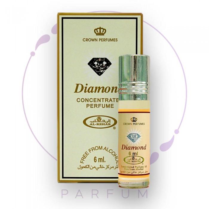 Масляные роликовые духи DIAMOND (Даймонд) by Al Rehab, 6 ml