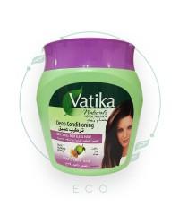 """Маска для волос от VATIKA """"Увлажнение и питание"""" для сухих и ломких волос (олива, миндаль, хна), 500 мл"""
