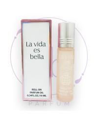 Масляные роликовые духи LA VIDA ES BELLA (Ла Вида Эс Белла) by Fragrance World, 10 ml