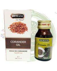 Масло КОРИАНДРА (Coriander Oil) Hemani, 30 ml