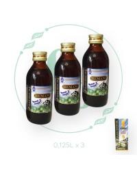 Набор (125ml х 3) масло ЧЁРНОГО ТМИНА от Hemani   стекло