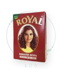 Натуральная индийская ХНА для волос Royal, бургунди (красная), 7шт. по 10 гр.