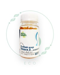 Капсулы ОМЕГА 3 Рыбий Жир от МируСалам, 200 шт по 300 мг