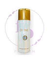 """Парфюмерный ДЕЗОДОРАНТ для тела """" Divine"""" by Fragrance World, 200 ml"""